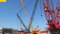 150ton Crawler Crane For Rent In Vietnam Dai Dien
