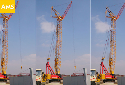 200ton Crawler Crane For Rent In Vietnam