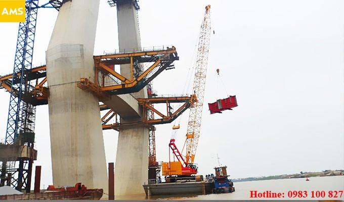 crane for rent in hanoi, vietnam