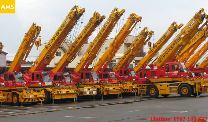 crane for rent in hanoi