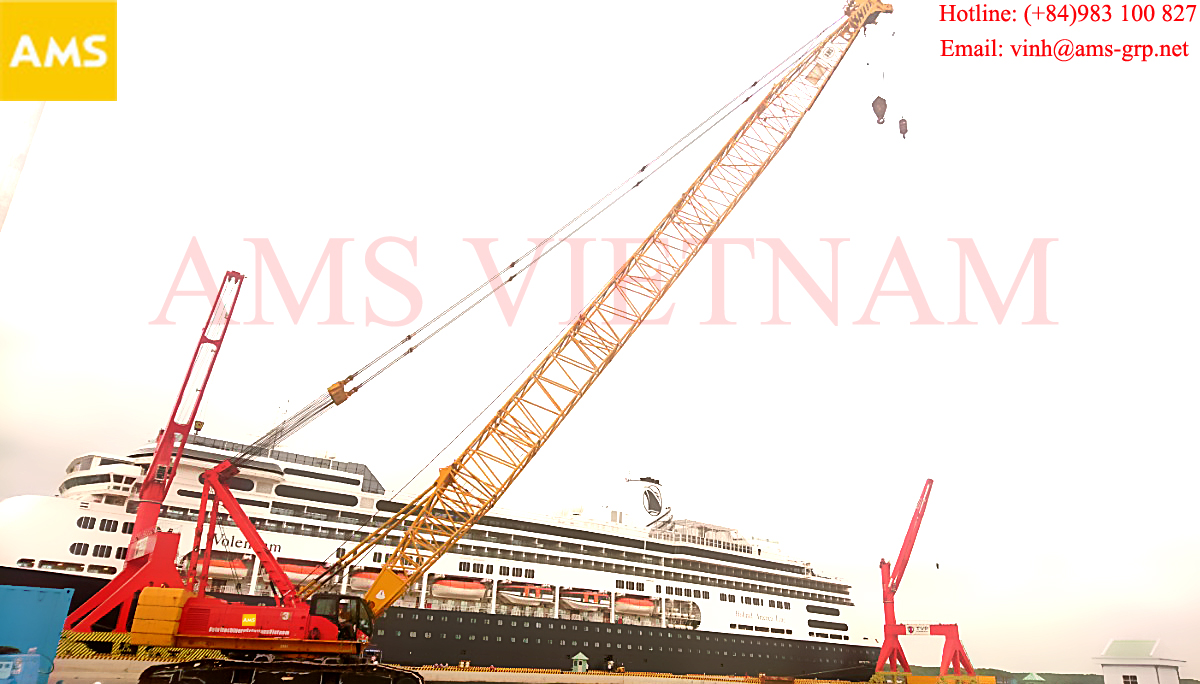 crane leasing in ho chi minh city good pice