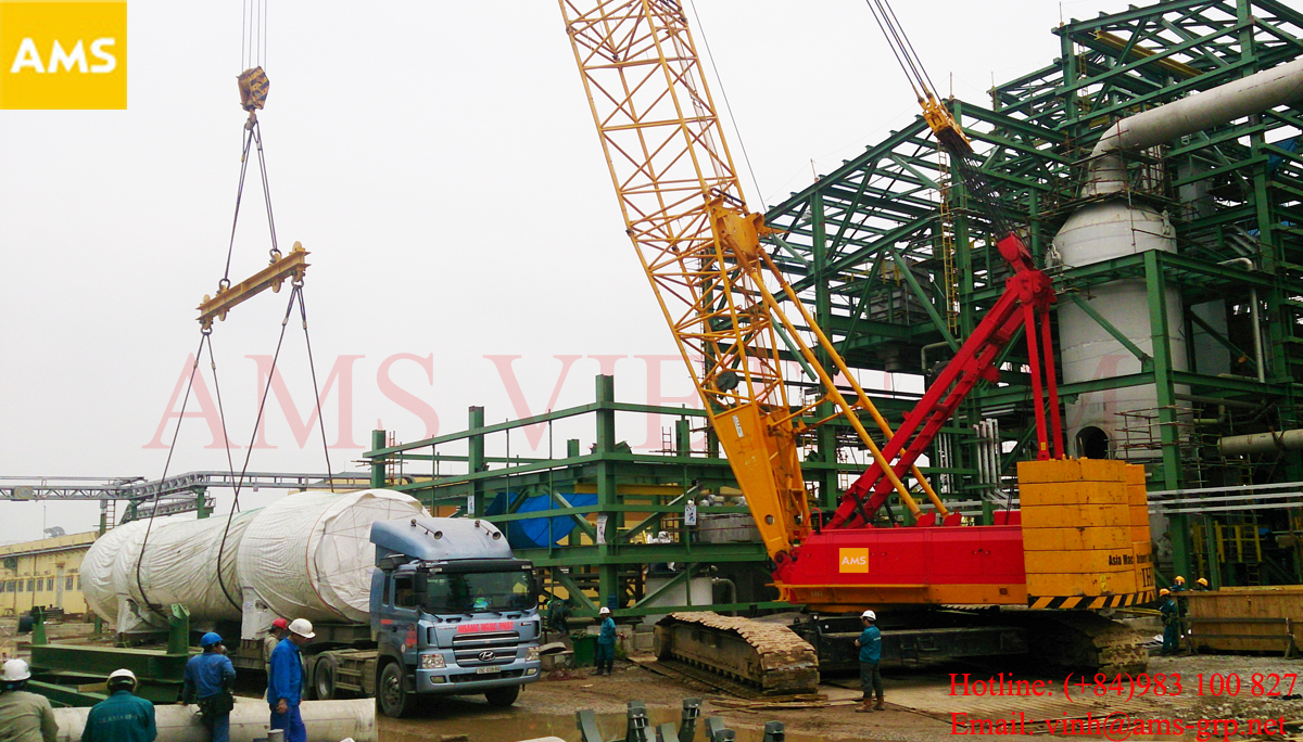 250ton crawler crane rental in vietnam best price